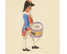 Spanien 1809. Miliz-Tambour