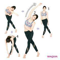1か月でウエスト-4.5cm! 引き締め効果絶大【ヒデトレ】エクササイズの実態とは? | MAQUIA ONLINE(マキアオンライン)