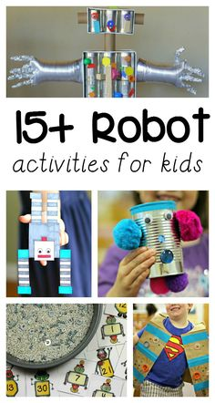 15+ awesome robot activities for kids