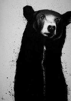 bear suit.