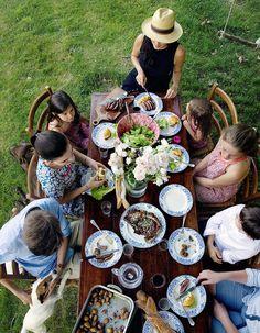 Barbecue d'été chez Mimi Thorisson