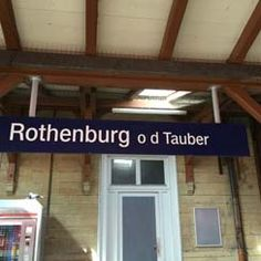 Ankunft in Rothenburg o. d. Tauber