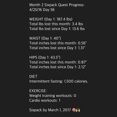 NOTE: Month 2 was a success despite my car accident in week 7. In month 3 I will focus on my diet and walking 30-60 mins daily to continue losing fat while I recover from my injury. 10 months left!  I'm sharing all the behind the scenes action on my Snapchat so make sure you download the app and add me under ROBERTNAVARRO87 to see: My nutrition My training My challenges My motivations  My thoughts My day to day life!  My goal is to get a Sixpack by March 1 2017 and inspire others to get…