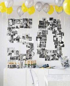 50 Photo Collage Decoration Idea