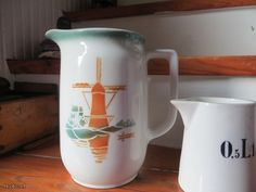 Arabian windmill Vintage Housewife, Old Recipes, Marimekko, Windmill, Homemaking, Finland, Stuff To Do, Art Deco, Container