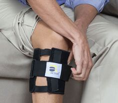 """What makes the BeActive Work? The brace itself does not provide the relief. When you apply the brace, it is most important to align the brace to get the cushion on the """"proper"""" spot. -"""