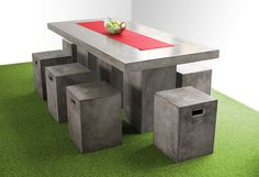 Urban dining table - Kannoa