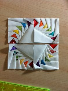 Mama Spark's World: Teeny Tiny Paper Piecing Paper Pieced Quilt Patterns, Quilt Block Patterns, Patchwork Quilting, Pattern Paper, Quilt Blocks, Paper Patterns, Small Quilts, Mini Quilts, Quilting Designs