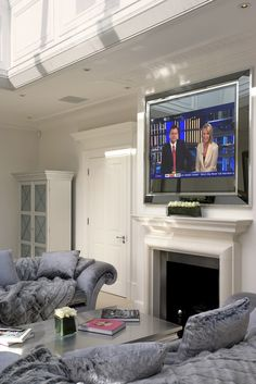 Aspen Plasma TV Surround « « Simpsons Mirrors