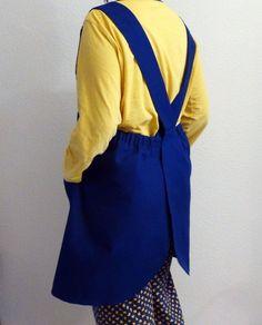 DELANTAL MANISES japanese apron patron de delantal japones | Etsy Japanese Apron, Fashion, Tela, Models, Apron Patterns, Sewing Patterns, Duct Tape, Pinafore Dress, Aprons