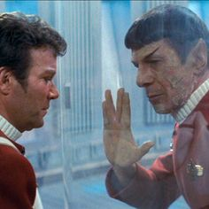 Scene from The Wrath of Khan...gets me every time