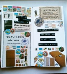 Midori Traveler's Notebook.