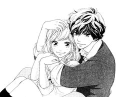 Image about couple in blue spring ride by bel - ao haru ride Beautiful couple Yoshioka Futaba and Mabuchi Kou - Futaba Yoshioka, Futaba Y Kou, Manga Anime, Manga Art, Manga Love, Anime Love, Ao Haru Ride Anime, Anime Girlfriend, Tanaka Kou