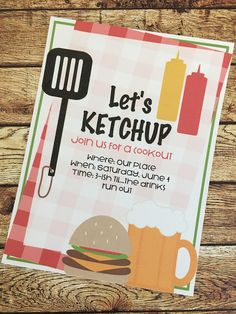 silhouette studio, bbq invitation idea, punny, silhouette cameo, silhouette cameo print and cut Reunion Invitations, Party Invitations, Invitation Cards, Free Silhouette Designs, Silhouette Studio, Silhouette Cameo, Cookout Decorations, Neighborhood Party, Backyard Cookout