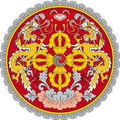 królewskie godło Buthanu