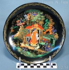 Bradford Exchange Russian Legends Princess Seven Bogatyrs Collector Plate #2 (FF