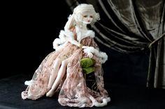 Art porcelain dolls by Oksana Saharova. Collection Ziegfeld Girls. Porcelain, 55cm, 2013