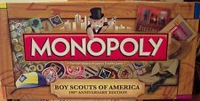 Monopoly Boy Scouts of America SEALED CONTENTS 100th Anniversary Limited ED 2009