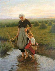 Carl von Bergen (1853 † 1933 in München) war ein deutscher Maler. In München absolvierte er im Alter von 25 Jahren erfolgreich das Studium der Malerei und wurde früh durch Genremalerei mit Kindermotiven bekannt.