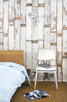 Oh so rustic wall cladding