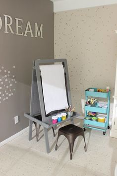 How to turn kids' playrooms into creative spaces to maximize their ingenuity and stimulate their artistic ability.