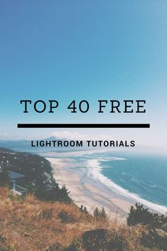 40 Free Tutorials for Lightroom - new to Lightroom and need some help getting started? Check out these 40 FREE workflow + editing Lightroom video tutorials from two blooms and get started today! Photography For Beginners, Photoshop Photography, Photography Tutorials, Photography Tips, Creative Photography, Popular Photography, Hipster Photography, Exposure Photography, Modern Photography