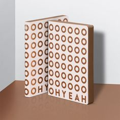 Oh Yeah – notebook / Notizbuch – nuuna by brandbook // nuuna notebooks are designed in Frankfurt and manufactured in Germany from sustainable materials which are made in Europe – find out more about our brand and discover our versatile collection of design notebooks on nuuna.com.