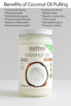 Ancient Ayurvedic ritual, Coconut Oil Pulling, is a magical oral detoxification achieved simply by swishing coconut oil in your mouth for 5-20 minutes.