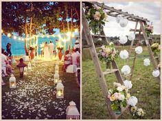 18 idee per allestire un altare per un matrimonio all'aperto