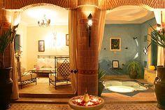 Patio - Espace détente - Riad Christina - Marrakech