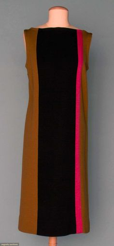 Augusta Auctions, November 14, 2012 NEW YORK CITY, Lot 356: Rudy Gernreich Wool Knit Dress, 1960s