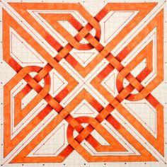 Celtic Symbols, Celtic Art, Mayan Symbols, Celtic Knots, Egyptian Symbols, Ancient Symbols, Hand Applique, Applique Quilts, Geometry Art