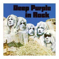 """L'album dei #DeepPurple intitolato """"In rock - 25th anniversary""""."""