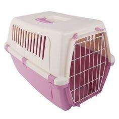 Переноска для кошек/собак Бергамо Визион 48х32х33см