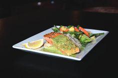 Pan-seared Loch Duart salmon at the Village Inn #oc #orangecounty #newportbeach #dining #restaurant #foodie #seafood   http://newportbeachmagazine.com/a-new-era/