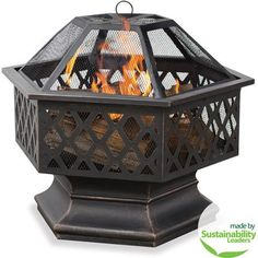 Outdoor Fire Pit : Fire Pits & Patio Heaters - Walmart.com