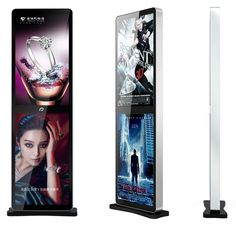 Quality Adaptable 43inch Indoor Floor Standing Foldable Lcd Digital Signage Advertising Display Screen For Shop/retail Store Excellent In