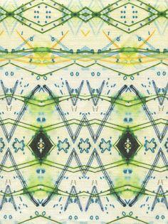 designer hand painted fabrics