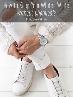 Laundry List: How to Keep Your Whites White Without Chemicals
