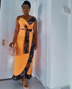 Long African Dresses, African Wear, African Fashion Dresses, African Women, African Traditional Wear, African Print Dress Designs, Ankara Dress, Kitenge, Pretty Dresses