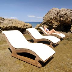 How impressive do these San Marino Sun loungers look