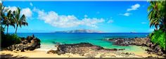 Makena Cove, Maui, HI ~ Our Beautiful Wedding Beach