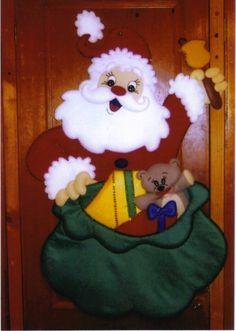 INTERCAMBIO DE MOLDES ORIGINALES NAVIDAD 2012 Christmas Crafts For Kids, Country Christmas, Christmas Art, Christmas Gifts, Christmas Decorations, Xmas, Christmas Ornaments, Holiday Decor, Penny Rug Patterns
