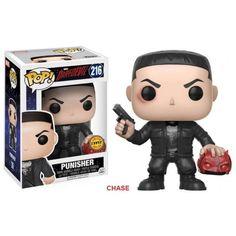 Funko Punisher Chase, Justiceiro, Daredevil, Demolidor, Marvel, Netflix, Funkomania, Quadrinhos