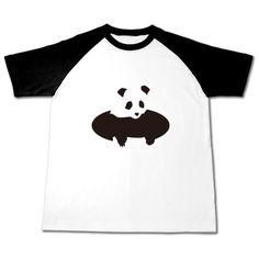 パンダホール かわいいパンダさん   デザインTシャツ通販 T-SHIRTS TRINITY(Tシャツトリニティ)パンダデザインティーが楽しいfooldesignオリジナルパンダグッズ★ 動物Tが好きな方オリジナルの面白デザインはいかが? パンダグッズの一員に、お気に入りTシャツになること間違いなし!