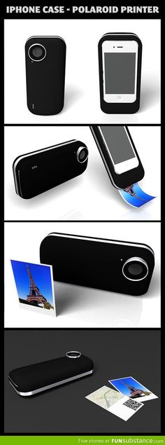 This phone case changes everything - FunSubstance.com on imgfave a phone that prints pictures best case ever invented