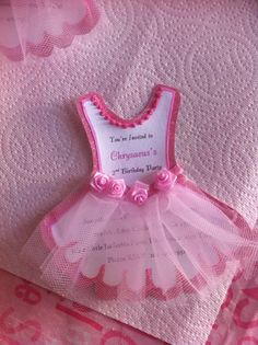 Ballerina Party Decoration Ideas Best Of Chrysaeus S Ballerina Invitations Ballerina Party Decorations, Ballerina Birthday Parties, Baby Shower Decorations, Girl Birthday, Baby Party, Baby Shower Parties, Baby Shower Themes, Ballerina Baby Showers, Kids Party Themes