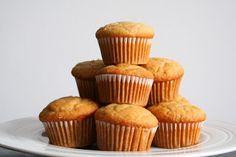Vanilla Cupcakes (Dairy, Gluten and Refined Sugar Free)