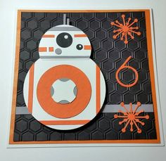 BB8, May the force be with you! by jackaroojrt - Cards and Paper Crafts at Splitcoaststampers