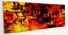 """""""IL MARE AD OCCHI CHIUSI"""" stampa su carta cotone montata su alluminio cm 70 x 150"""